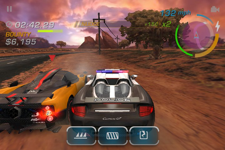 Need for speed: most wanted для ios/android - лучше меньше, да лучше