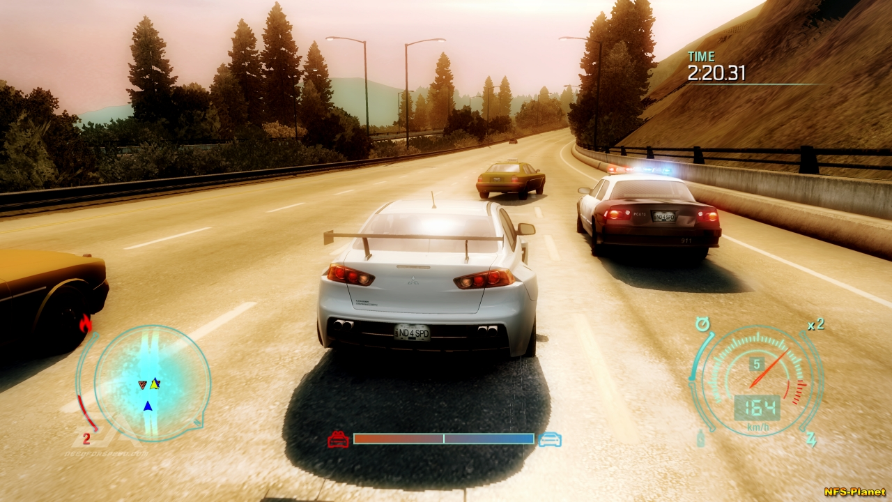 Скриншоты, Undercover - Need For Speed World Site